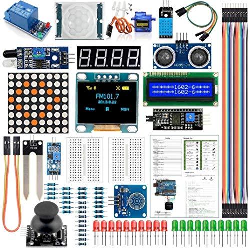 UNO R3 Mega2560 Module Sensor Kit Project Most Complete Starter Kit Electronic Components Set Basic Starter Kit
