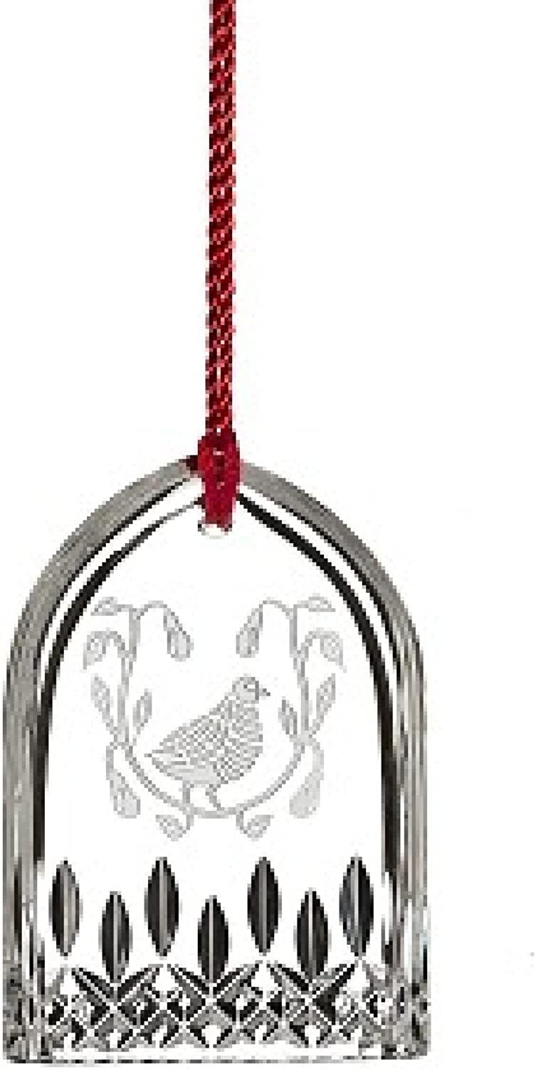 Waterford 12 Days Of Christmas 2015 Lismore Partridge Ornament