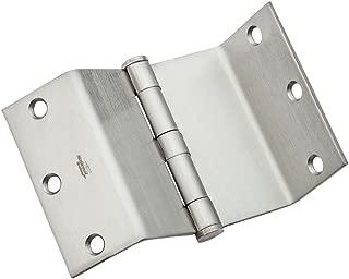 National Hardware N236-021 DPBF248 Swing Clear Hinge in Satin Chrome