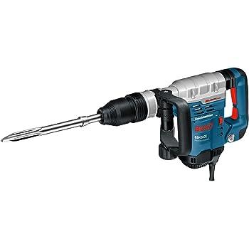 Bosch Professional Marteau-piqueur SDS-max GSH 5 CE (1150 W, fréquence de frappe: 1.300-2.900 cps/min, Pack d'accessoires, Coffret)
