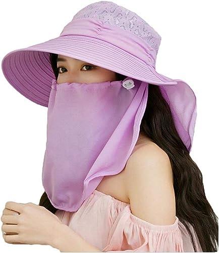 CFHJN-hat Home Damenhut Sonnenschutzhut Damen Sommer Maske Reiten Elektro Motorrad Sonnenblende Hut (Farbe  Rosa)