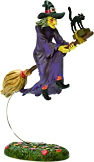 Department 56 Snow Village Halloween Witch Hollow Midnight's Last Ride Figurine, 5 Inch, Multicolor