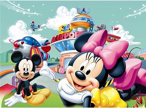 alto descuento Puzzle WYF Juegos Inteligentes de de de Mickey Mouse - IQ Couples Creative Gifts 500,1000,1500 Piezas P616 (Color   D, Talla   1500pc)  mejor calidad mejor precio