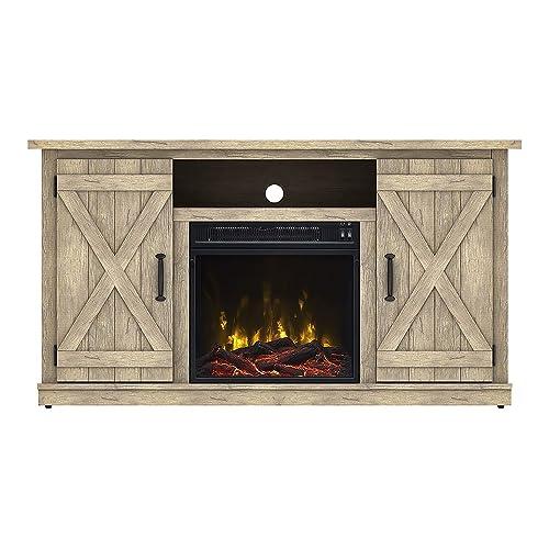 Rustic Electric Fireplaces Amazon Com