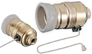 Portalámparas E27 con cordón interruptor de cuerda cuerda lámpara portalámparas LED