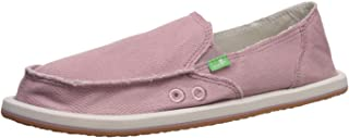 حذاء نسائي مسطح بدون كعب Donna Hemp من Sanuk