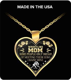 Wrestling mom Pendant necklace