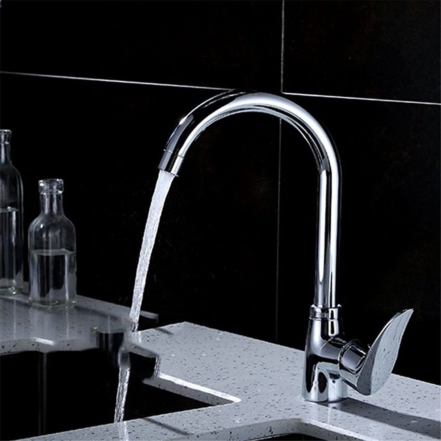 Bijjaladeva Antique Kitchen Sink Mixer Tap The Kitchen Sink Full Copper Cold-hot-Cold-Water Washing Dishes in a Bathtub Faucet A