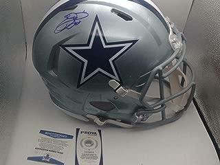Emmitt Smith Signed Helmet - F s Proline Speed Beckett Holo Coa - Beckett Authentication - Autographed NFL Helmets