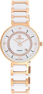 Olivera Casual Watch Analog for Women, Stainless Steel, OG1350