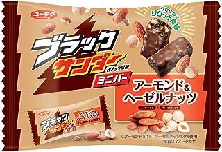 有楽製菓 ブラックサンダーミニバーアーモンド&ヘーゼルナッツ 143g ×6袋