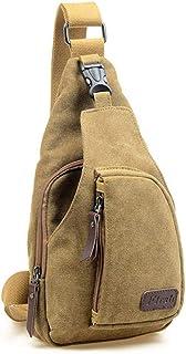Neue Militärkuriertasche Neue Art- und Weisemännerkuriertaschen beiläufige Segeltuch-männliche Schulter-Tasche Khaki