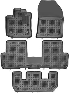 RENAULT CLIP - Nero Ago Feltro 4tlg a partire dal 2012 Tappetini auto Dacia Lodgy