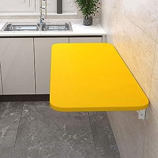 XYL Table Rabattable - Cuisine Table À Manger, Ordinateur Portable Table, Table Pliante Murale, Support en Acier Inoxydabl...