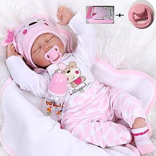 Amazon.es: bebe reborn recien nacido ojos cerrados