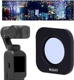Tonysa Filtro de Lente Nocturna, Filtro de Lente Nocturna liviano, anticontaminación lumínica para cámara FEIYU Pocket