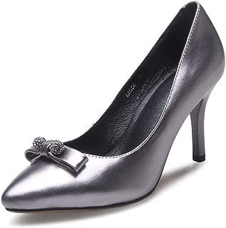 Nine Seven Women's Leather PointToe Heel Pump Shoe