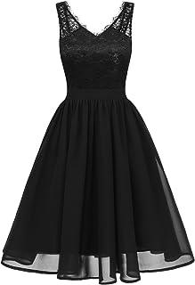Kleider schwarz konfi Vera