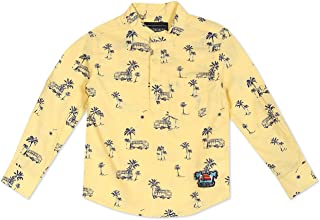 Cherokee by Unlimited Boy's Cherokee Kids FULL SLEEVE REGULAR FIT Shirt TOP