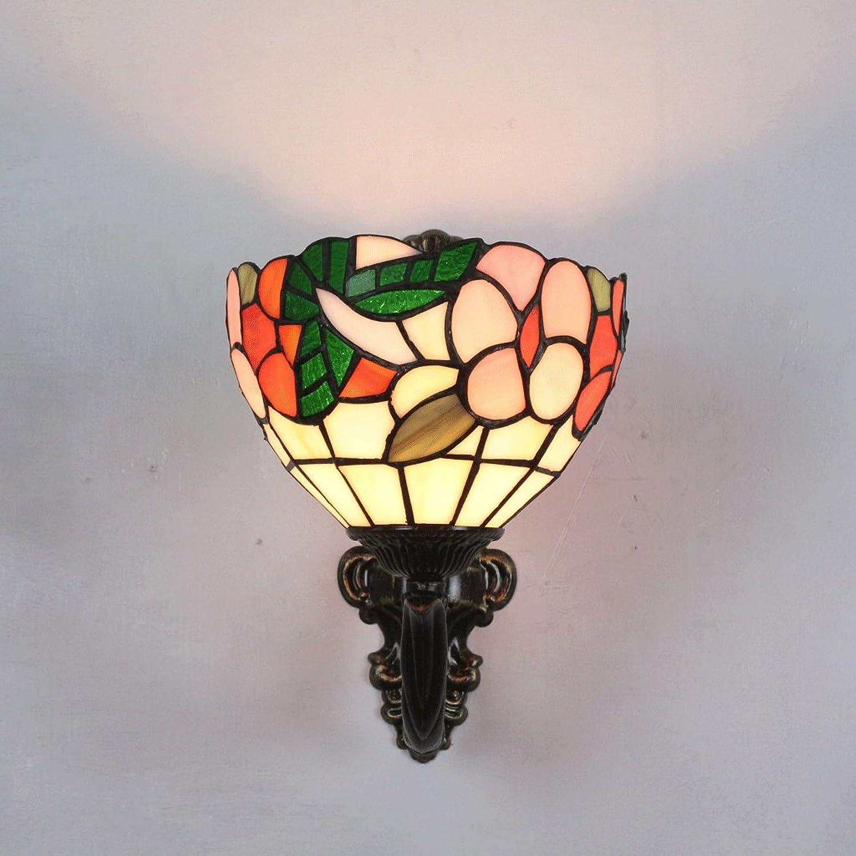 Gweat 7 Zoll Pastoralen Blaume Wandleuchte Korridor Einzelkopf Lampe Warm Idyllischen Flur Küche Balkon Licht