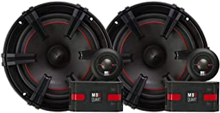 "MB Quart 90 Watt 6.5"" X-Line Series 2-Way Component Car Speakers XC1-216"