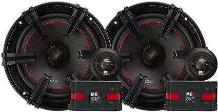 MB Quart XC1-216 X-Line 2-Way Component Speaker System (Black, Pair) – 6.5 Inch Component Speaker System, 90 Watt, Car Aud... photo