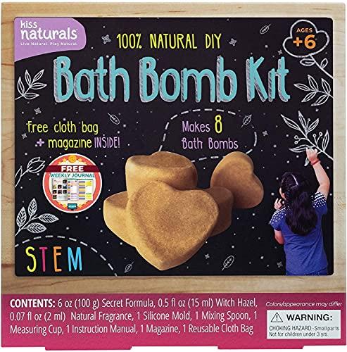 Kiss Naturals DIY Bath Bomb Making Kit