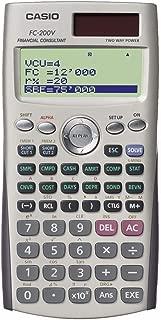 Calculadora Financeira FC-200V Branca Casio