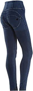 WR.UP High Rise Denim Effect – Skinny Push Up Shaping Pants.