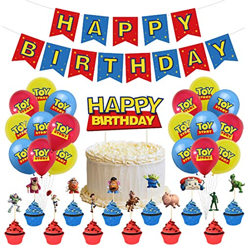 32 Piezas Toy Story Party Supplies ZSWQ-decoración de fiest
