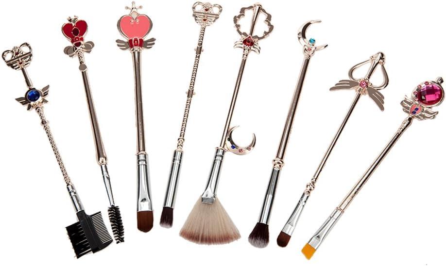 8 low-pricing pcS Sailor moon jewelry Cheap super special price Make Pincel maquiagem Gol Up set Brush