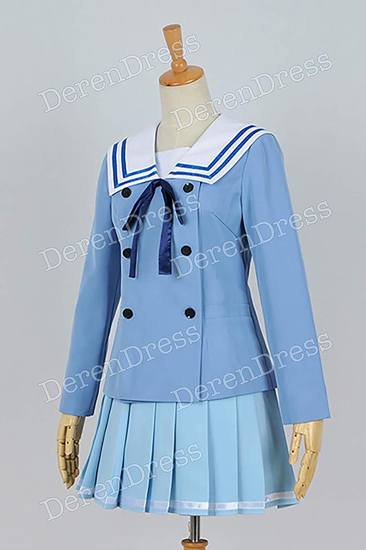 Beyond The Boundary Kyoukai No Kanata Mirai Kuriyama Uniform Cosplay Costume