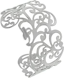 Best women's stainless steel cuff bracelets Reviews