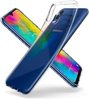 Spigen Liquid Crystal Serisi Kılıf Galaxy M20 ile Uyumlu / 4 Tarafı Tam Koruma - Crystal Clear