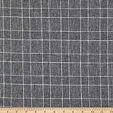 TELIO 0770735 Linen Cotton Yarn Dyed Glencheck Fabric