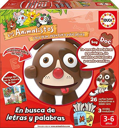 Educa Borrás Los Animalistos (français Non Garanti) Doc Sin Talla