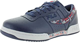 Fila Mens Original Fitness Trademark Trainers Leather Sneakers