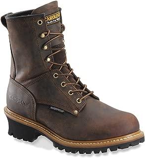 Men's 8 Inch Waterproof Logger Boots CA8821