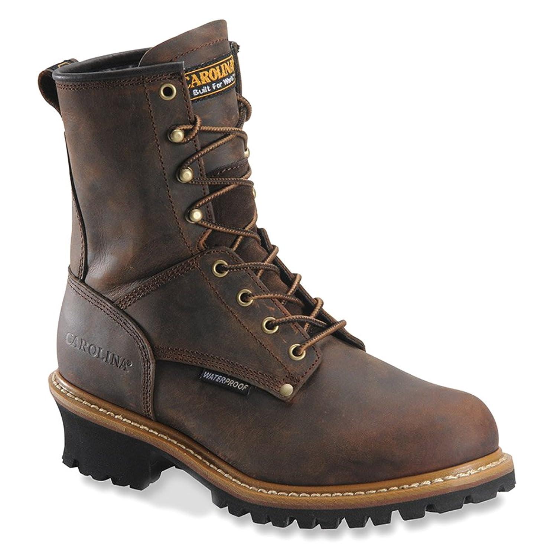 理想的イライラするパトロール[Carolina Boots] メンズ カラー: ブラウン