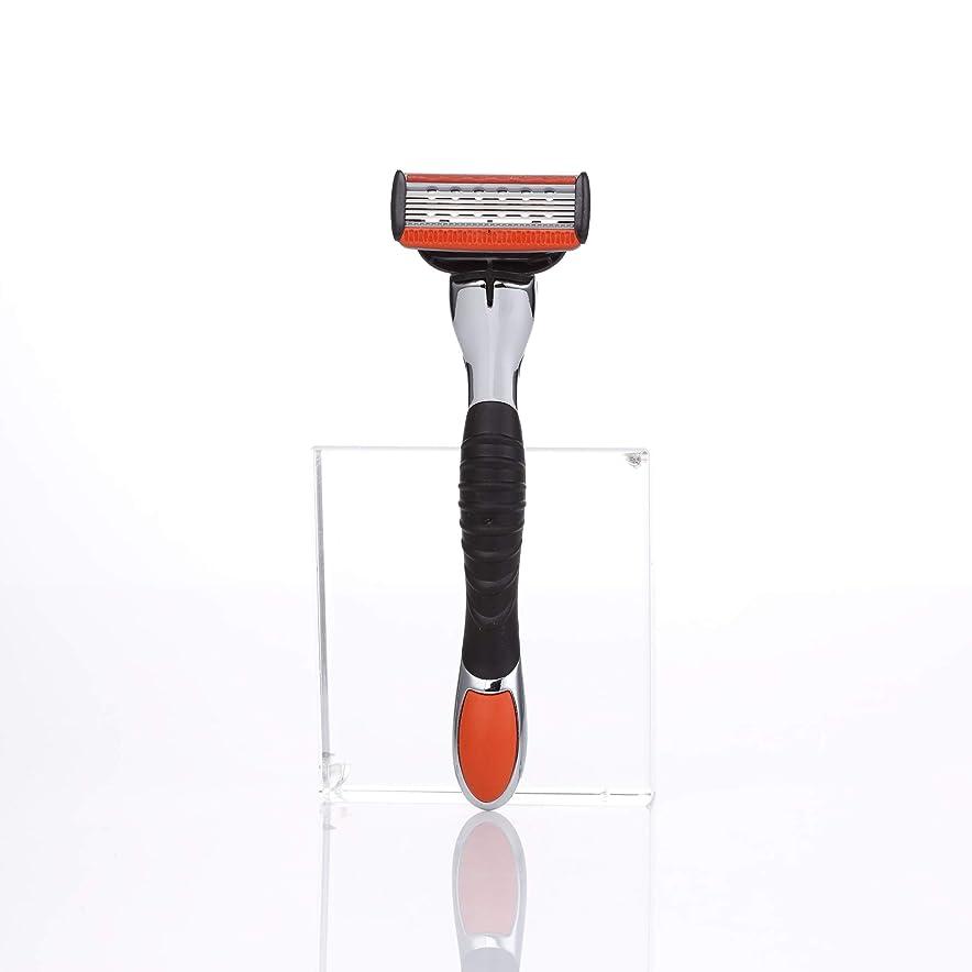 FLASH ひげ剃り5枚刃 スムーズな切れ味 10000人の使用を実感