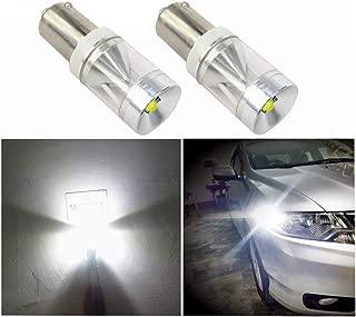 6000K 12V t4W 2 Bombillas LED para luces de posici/ón de coche 4 SMD blanca BA9S TecnoStore/®