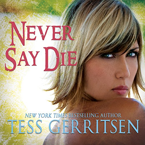 Never Say Die audiobook cover art