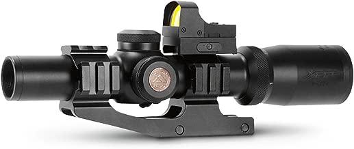 AIM Sports Reaper 1-4x24mm Illuminated FFP Scope and Reflex Sight Combo