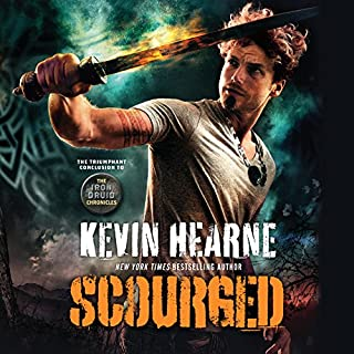 Scourged                   Written by:                                                                                                                                 Kevin Hearne                               Narrated by:                                                                                                                                 Luke Daniels                      Length: 8 hrs and 58 mins     90 ratings     Overall 4.6