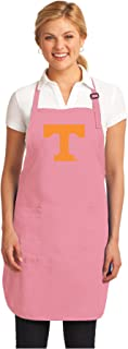 Broad Bay Pink University of Tennessee Apron Deluxe Tennessee Vols Aprons Made in The USA