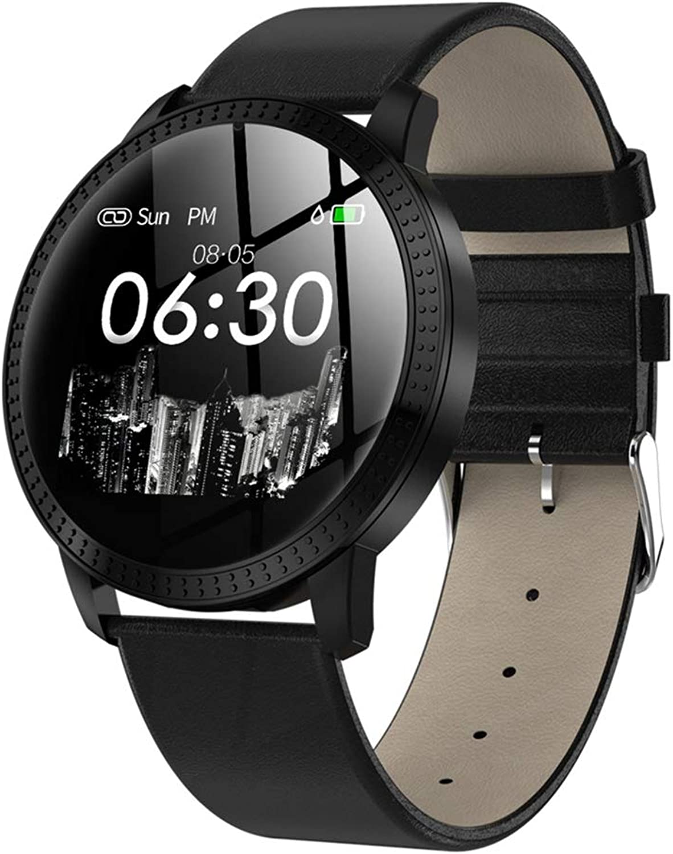 FYK&&SW Intelligente Uhr Mode Smart Watch IP68 wasserdicht IPS Farbdisplay Pulsmesser Fitness Tracker Sport Smartwatch für Mnner
