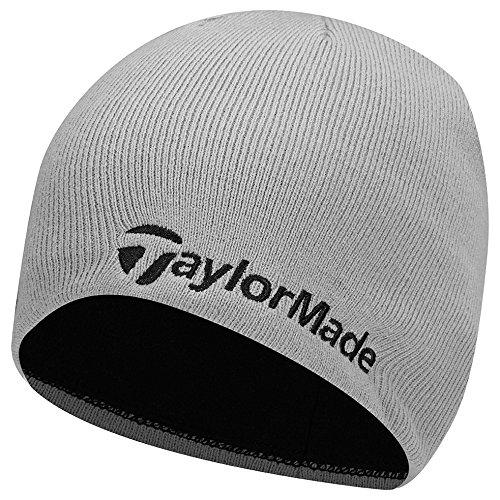TaylorMade Golf 2017Beanie, Unisex, Grey Beanie, Gris