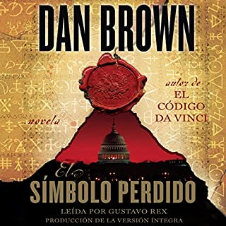 El símbolo perdido [The Lost Symbol] audiobook cover art