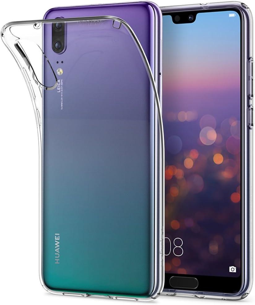 Cover Huawei P20, Spigen [Liquid Crystal] Puro Trasparente [Crystal Clear] La protezione superiore / Leggero sottile Silicone Premium TPU case - Custodia Cover Huawei P20, P20 cover - (L21CS23081)