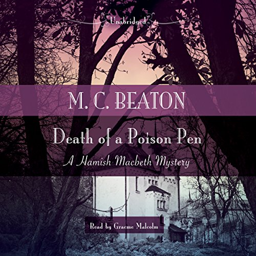 Death of a Poison Pen 1483097242 Book Cover